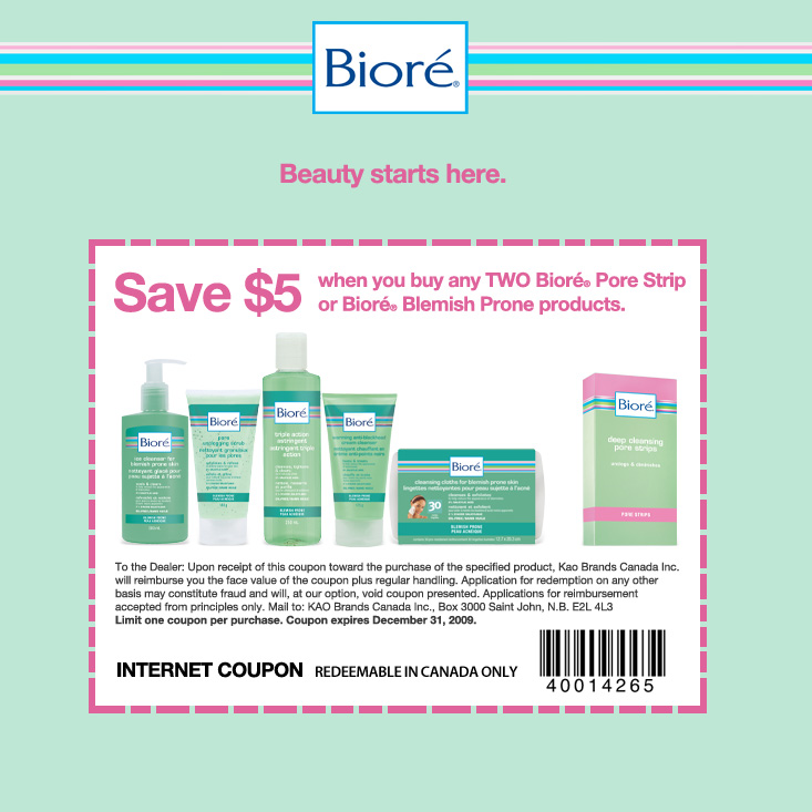 photo regarding Printable Biore Coupons referred to as Biore strips discount codes printable - Linux structure coupon