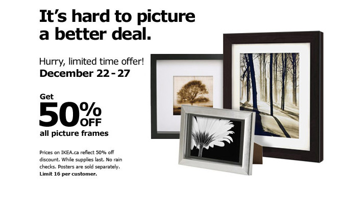Ikea Picture Frames Canada - Frame Design & Reviews ✓