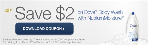Dove Canada Coolcanucks Canadian Coupons Contests Deals And Freebies